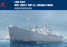 RealTS Trumpeter 1/350 05301 WW2 Liberty Ship S.S. Jeremiah O'Brien Model Kit(China)