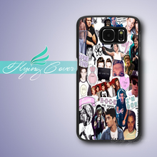 Coque One Direction Collage Phone Cases for Samsung Galaxy S3 S4 S5 S6 S7 Edge Plus Case for Samsung Galaxy Note 7 5 4 3 Case.(China)