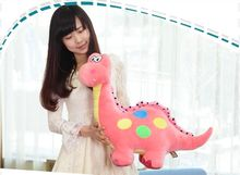 big lovely new plush dinosaur toy cartoon spots pink dinosaurs doll gift about 70cm