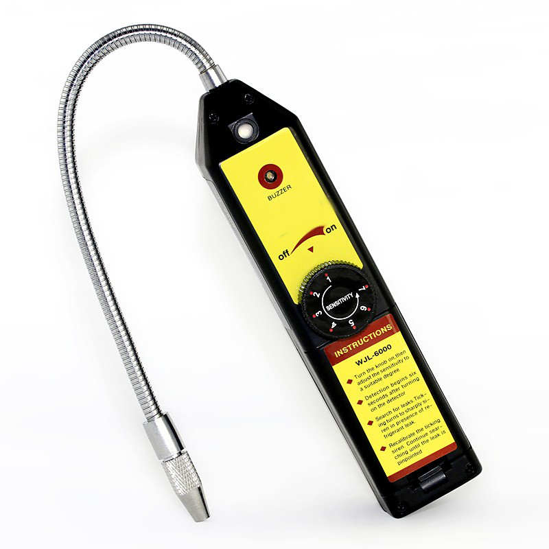 High Sensitivity electronic halogen leak detector refrigerant detection Refrigerant / automotive air conditioning gas leak<br>