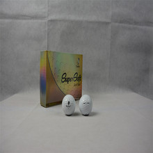 12 Pcs/bag Outdoor Sport Golf Ball Game Training Match Competition Rubber Ball For Golf Three Layers High Grade Golf Balls White