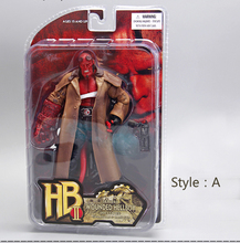 "MEZCO Hellboy PVC Action Figure Collectible Model Toy 2Styles 7"" 18cm"