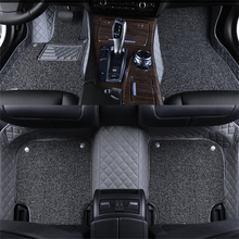 Leather Wire Car Floor Mats For Land Rover Range Rover Sport Velar Evoque New Discovery2/3/4/5 freelander Defender Car Rugs 72d