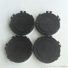 DHL 100pcs 75mm New 6pins  Car Styling Light Dark Blue Black Wheel Centre Cap Hub Caps Cover Badge Emblem 6 Clips