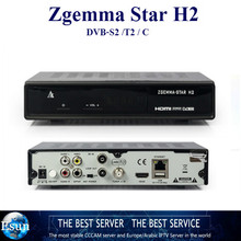 GOTiT zgemma star H2 Combo Satellite+Cable/Terrestrial Receiver as cloud ibox3 twin tuners DVB-S2+T/C enigma 2 linux OS Full HD