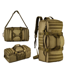 56-75L Large Tactical Backpack Large Army 3 Day Assault Pack Molle Bug Out Bag Backpack Rucksacks for Outdoor Travel 139(China)
