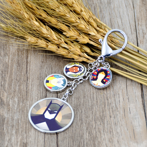 sublimation metal photo key chain
