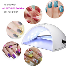 Portable SUN6 48w nail gel curing lamp light nail gel polish dryer nail art machine with 30s 60s and double powder timer