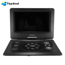GKN-101 10.1Inches Home Portable DVD Player Portatil 16:9 TFT Screen Pixe 1024 * 600 SD/USB/AV for Gamepad TV DVD/CD/MP3(China)