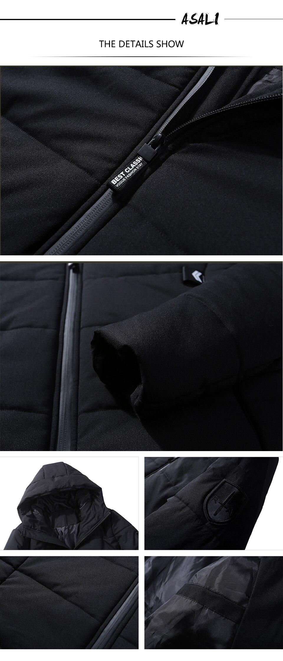معطف للرجال سميك ودافئ 4