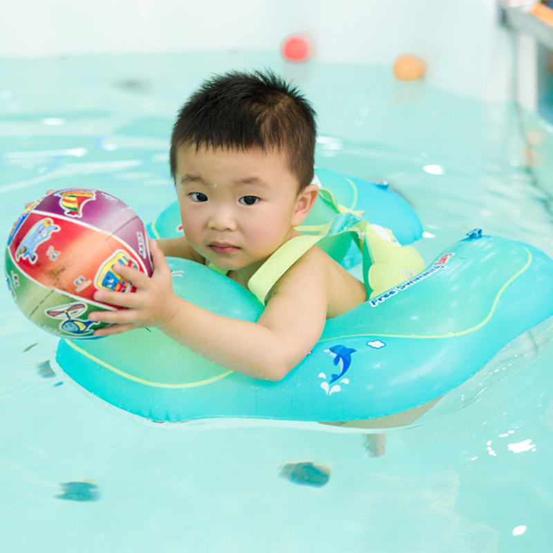 Baby Toddler Infant Kid Swimming Ring Inflatable I...