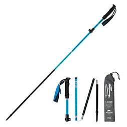 Rubber Protect Nordic Alpenstock Trekking Pole Walk Stick Hiking Q5D1