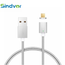 Buy Sindvor Micro USB Cable Magnetic Charger 1m Xiaomi Huawei Android Phone Fast Charge 2A Magnet Microusb Nylon Data Cable Wire for $3.14 in AliExpress store