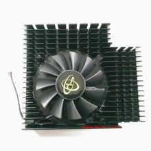 computer radiator blower VGA cooler fan with heatsink For XFX R7 240 R7-240 video Graphics Card GPU cooling