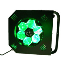 HOT 100W LED Bee Eye Beam Light 6X15W RGBW 4IN1 DMX512 LED Scan Rotate effect Lights For KTV Stage Party Wedding Events Lighting