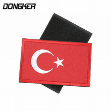 Buy DONGKER Sport Outdoor Embroidery Patch Turkey Flag Cap Backpack Clohting Badge Cycling Hiking Climbing Patch Accessory for $1.15 in AliExpress store