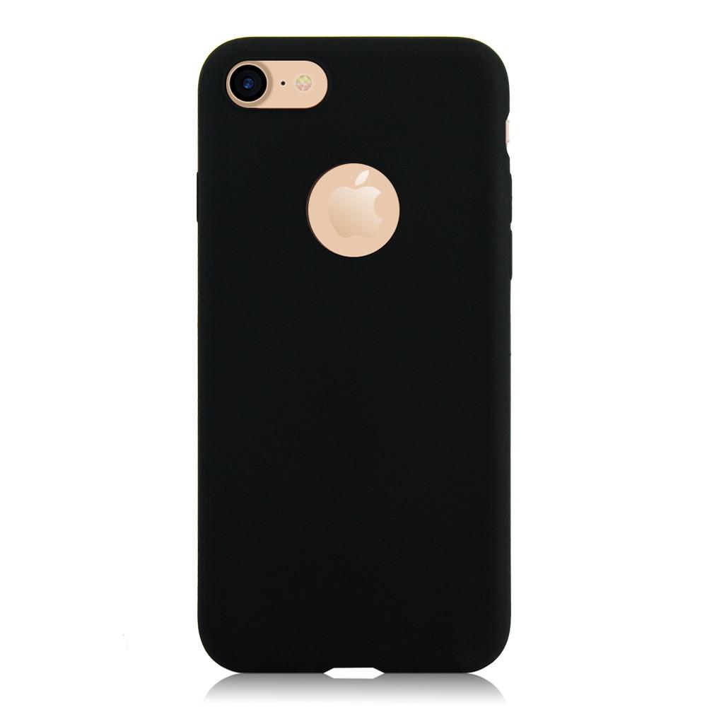 KIP71149B_1_Matte Pure Color Soft TPU Case for iPhone 7