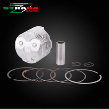 Engine Cylinder Part Piston and Piston Rings Kits For HONDA CBR250RR MC22 CBR22 1990-1998 CBR250 NC22 Motorcycle Accessories(China)