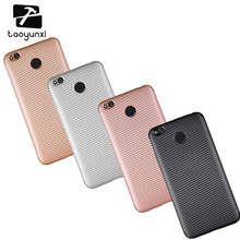 Cases For Xiaomi Redmi 4X Cover 5.0 inch Cell Phone Bags Housing Anti Skidding TPU Carbon Fiber Texture Protective Holster