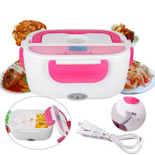 Useful Heated Lunch Box Electric Heating Truck Oven Cooker Office Home Food Warmer E2S