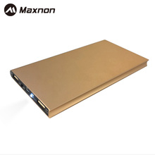 MANXON 10000mah Portable Dual USB Universal External Battery case Charger Power Bank For Smart Phone iPhone 4s 5 5s 6 6s IPad(China)