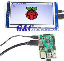 TFT LCD 800*480 raspberry pi lcd tft Touch Screen 7 inch touchscreen raspberry pi display(China)
