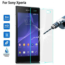 9H Tempered Glass for Sony Xperia M4 aqua Z5 Z1 Z3 Compact Mini Z L36h Z1 L39h Screen Protector Toughened Protective Film