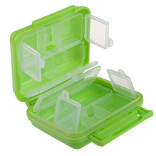 Hot Selling Useful 1 Pcs Portable 8 Cells Pocket Pill Medicine Box Storage Case Organizer