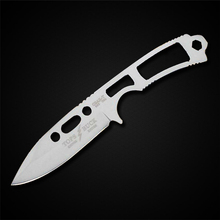 PEGASI New Buck Knife Fixed Blade Knife 420HC Stainless Steel Knife Multi Utility Necklace knife Tool(China)