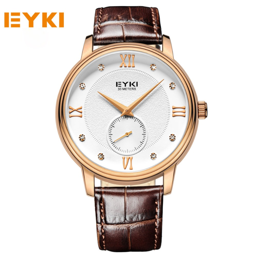 EYKI Men Top Brand Wristwatches Men Business Watch Fashion Casual Watcehes For Men Sport Quartz Clocks relogio masculino <br><br>Aliexpress