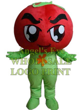 tomato mascot costume custom cartoon character cosply adult size carnival costume SW3096(China)