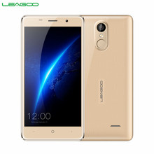 "LEAGOO M5 Shockproof Smartphone Android 6.0 2GB RAM 16GB ROM Quad Core MT6580A Dual SIM GPS Fingerprint 5.0""HD 3G Mobile Phone(China)"