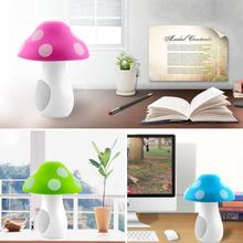 2017 Cute Mushroom DC5V 500MA USB Speaker For Ipod for iPhone Notebook Desktop Computer(China)