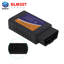 ELM327 Bluetooth OBD2 V1.5 Support OBD II protocols CAN-BUS Diagnostic Interface Bluetooth ELM327 OBD 2 Code reader Scan Tool(China)