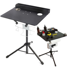 Adjustable Tattoo Work Desk Table Compact Stand Professional Tattoo Station Body Art Tattooing Supply Permanent Makeup Equipment(China)