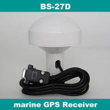 12.0V RS232 DB9 femal connector,marine GPS receiver antenna 4800 baud rate RS-232,BS-27D(China)