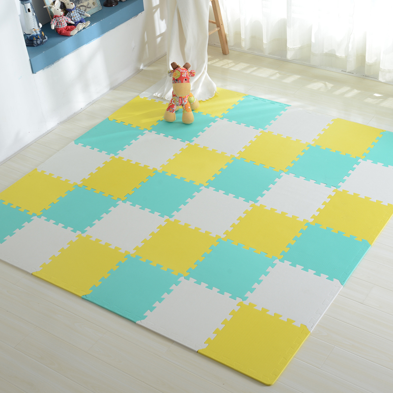 Foam floor tiles for babies