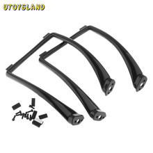 UTOYSLAND Tall Landing Skid Gear Suit for Phantom 1 2 Vision Wide & High Extended RC Helicopter phantom landing gear(China)