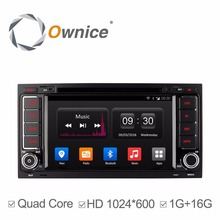 1024*600 ownice 4 Core Android 4.4 For Volkswagen Touareg T5 2din Car DVD GPS BT Radio Stereo Video wifi 16G ROM support DAB+