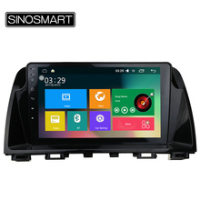 SINOSMART Support 4G RAM 2G/1G Android 5.1 Car GPS Player for Mazda 6 Atenza 2012-2016 canbus optional for Bose, Native Camera