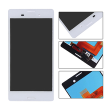 white black lcd display touch screen digitizer full assembly replacement parts For Sony Xperia M4 Aqua E2303 E2333 E2353
