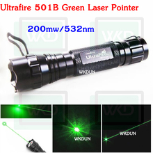 1pcs WF-501B 532nm green Laser Pen laser light green laser pointer 200mw(China)