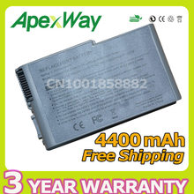 Apexway 11.1V Battery for Dell Latitude D500 D505 D510 D520 D530 D600 D610 for Precision M20 C1295 M9014 U1544 W1605 Y1338(China)