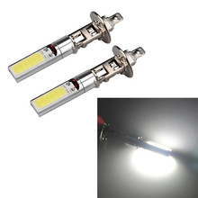 hot sale New 2pcs H1 COB LED Bulb 10W Xenon High Power Car Fog Driving Lamp White Light very nice Vicky