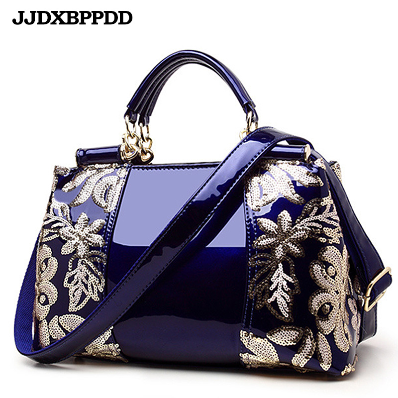 Women Bags Shoulder Handbags Large Capacity Womens Handbags Shoulder Messenger bags Floral Luxury Genuine Leather  Bag<br>