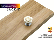 (4 pieces/lot) VIBORG Deluxe Brass Drawer Knobs & Cabinet Handles &Drawer Pulls & Cabinet Pulls, SA-752-D(China)