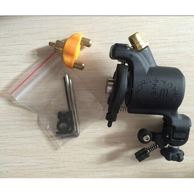 2016 New Pro Rotary Tattoo Machine Swashdrive Gen 8 Cutback Adjustable M627-1 Black color Low Noice Tattoo Gun for Tattoo<br>