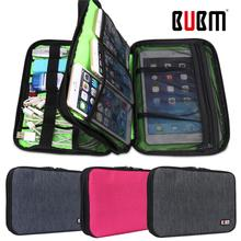 BUBM Travel Zipper Handbag Case For iPhone Samsung Sony HTC Phone Storage Bag Electronic Accessories Tool Pouch Organizer