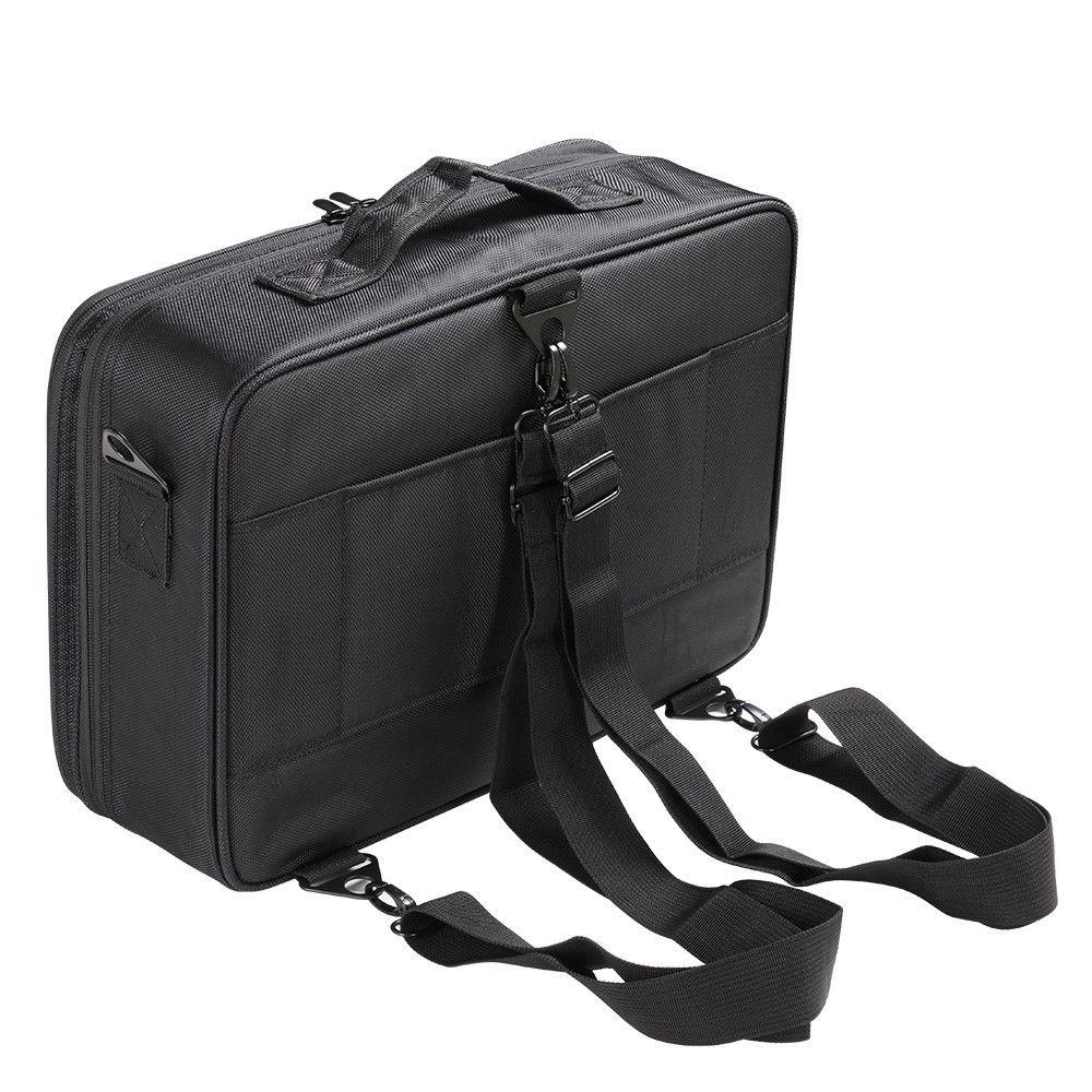 Women Makeup Bag High Quality Professional Organizer Makeup Brush Bag Case Cosmetic Bag Large Capacity Storage Bag Art Tool Box (9)