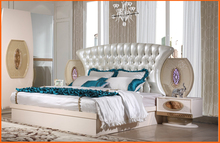 Y.G furniture 2017 new design high quality low price king size bed, night stand, wardrobe, dresser , bedroom furniture set